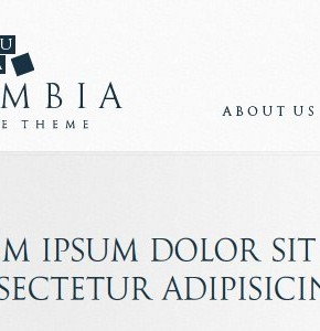 Columbia Corporate Theme ThemeForest бизнес тематика в шаблоне Wordpress