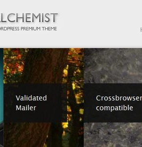 Alchemist Themeforest портфолио шаблон Wordpress