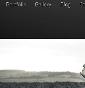 Blaxk Themeforest фото шаблон для сайта на Wordpress