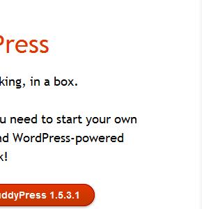 Плагин социальной сети на Wordpress Buddypress