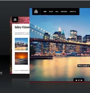 DK For Photography Creative Portfolio v1.2 тема для блога или портфолио Wordpress от Themeforest