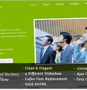 EBIZ шаблон Wordpress бизнес портфолио тематики от Themeforest