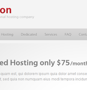 Epsilon ThemeForest шаблон для хостинговой компании Wordpress