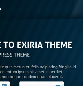 Exiria Themeforest бизнес тема для Wordpress