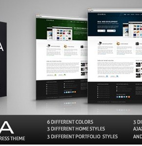 Synthesis ThemeForest интересный шаблон для Wordpress