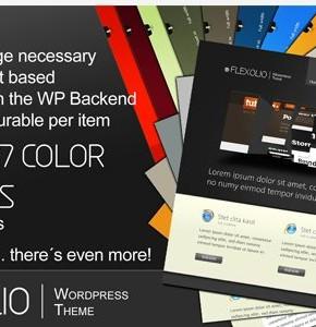 Flexolio Themeforest хороший шаблон для  портфолио Wordpress