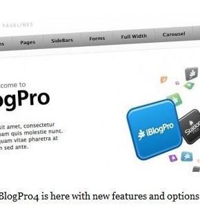 iBlogPro PageLines шаблон блога компьютерной тематики