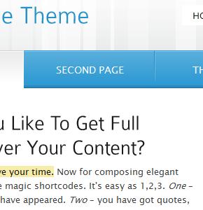 Intelligible Themeforest шаблон для бизнес сайта на Wordpress