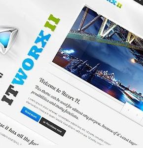 ITWORX II Themeforest - стильный и универсальный шаблон Wordpress
