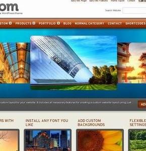 Kustom Themeforest элегантный шаблон Wordpress