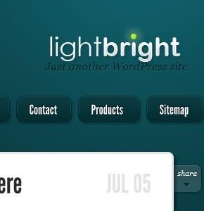 LightBright ElegantThemes тема блога Wordpress