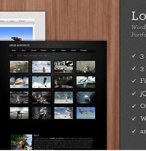 Locus One Page Themeforest шаблон Wordpress для сайта визитки в одну страницу