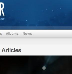 Magstar Themeforest синий блоговый шаблон Wordpress