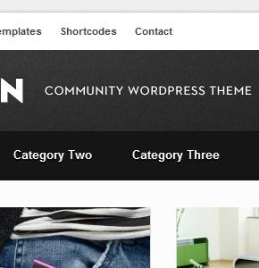 Open Themeforest тема для блога или новостного сайта на Wordpress