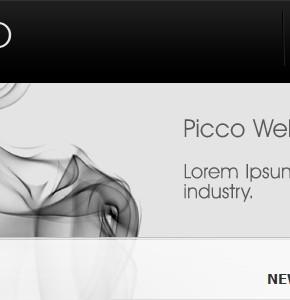 Picco Themeforest тема портфолио для блога на Wordpress