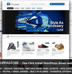 Sofa SuppaStore Themeforest шаблон интернет магазина Wordpress