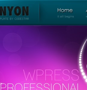 The Canyon ThemeForest шаблон Wordpress бизнес тематики