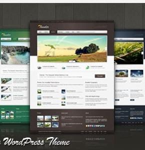 Thunder Corporate Themeforest - шаблон для портфолио, блога, новостного сайта или видео блога