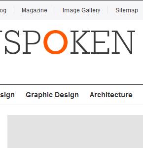 Unspoken шаблон от малоизвестного производителя Wordpress