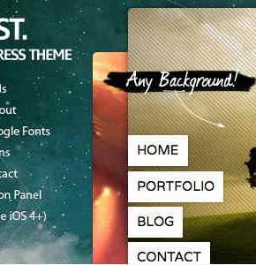 Contrast Themeforest модный шаблон Wordpress для портфолио и не только