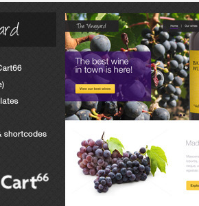 The Vineyard Themeforest Wordpress шаблон для интернет магазина