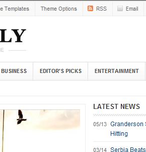 Weekly v1.2 ThemeJunkie новостная тема Wordpress