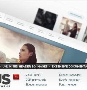 Appius Themeforest профессиональный шаблон для портфолио Wordpress