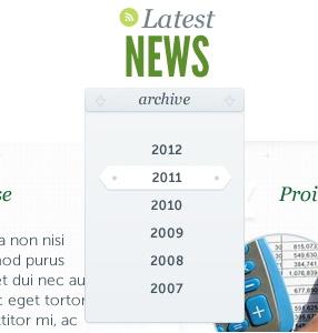 Отображение только 12 месяцев в виджете архивов Wordpress