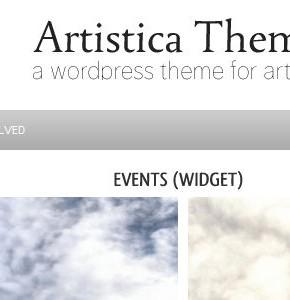 Artistica WpZoom шаблон для артистов на Wordpress
