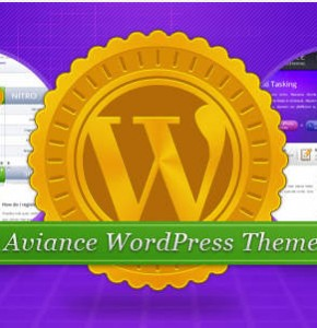 Aviance Themeforest бизнес тема Wordpress
