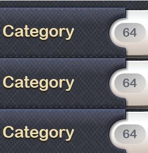 Убираем скобки в количестве постов выводе всех категорий