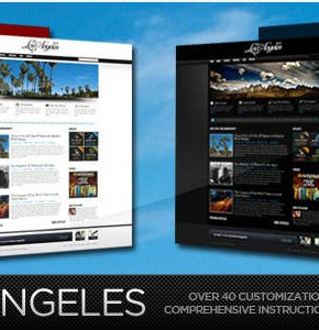 Los Angeles Themeforest блоговая тема Wordpress