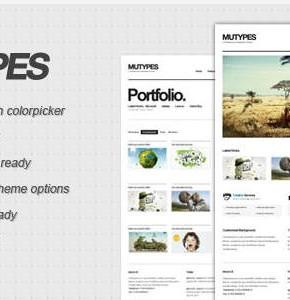 Mu Types Themeforest Wordpress шаблон интернет магазина Wordpress