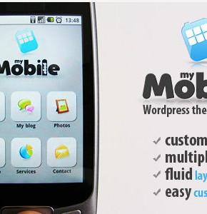 My Mobile Page V2 Themeforest шаблон сайта Wordpress для мобильных устройств