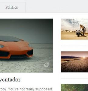onPlay WpZoom новостной шаблон Wordpress