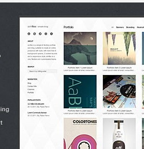 Simflex Themeforest Wordpress минимализм тема Wordpress