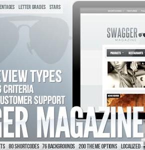 SwagMag  Magazine Themeforest Wordpress универсальная тема для любого сайта