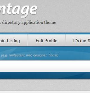 Vantage  AppThemes шаблон для community Wordpress, с возможностью создавать events, beta 2
