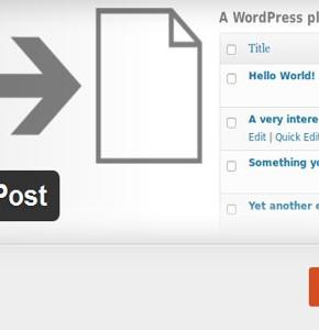 Как создать копию существующего поста Wordpress с плагином Duplicate Post