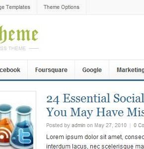 Daily v1.0.3 ThemeJunkie новостной шаблон Wordpress