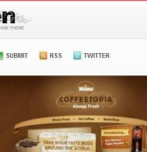 Garden v1.0.2 ThemeJunkie шаблон Wordpress с рейтингом статей