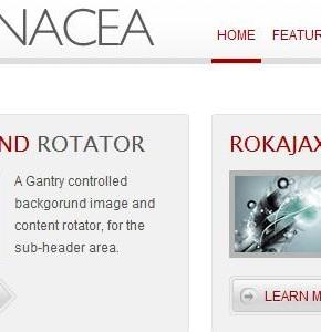 Panacea RocketTheme универсальный шаблон Wordpress с 10 стилями