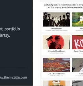 Sideshow Themeforest блоговый шаблон Wordpress
