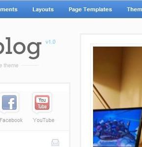 Smartblog ThemeJunkie отличный блоговый шаблон Wordpress