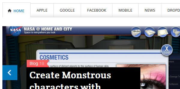 TechNews Templatic шаблон компьютерной тематики для блога на Wordpress