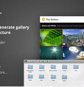 The Gallery Themeforest шаблон автоматически генерируемых галерей Wordpress (Photography)
