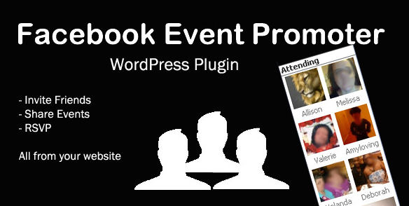 Плагин Facebook Event Promoter Wordpress