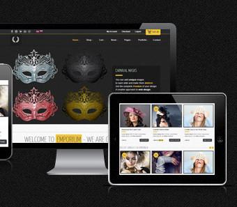Themeforest Emporium Responsive WooCommerce шаблон интернет магазина на Wordpress