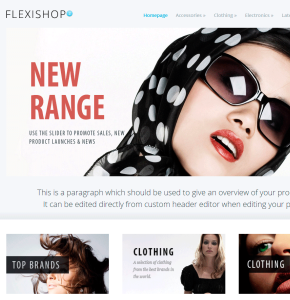 WP Flexishop 2 Themeforest тема интернет магазина Wordpress