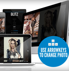 Blitz Responsive and unique Themeforest ajax шаблон Wordpress для портфолио или фото